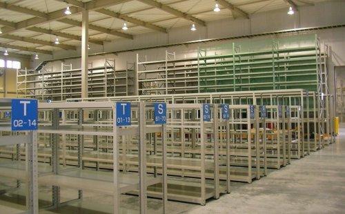 ボルトレスラックM300 設置工事