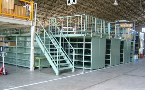官公庁向け積層棚